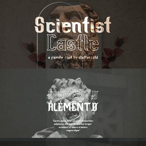 Scientist Castle - Family Slab Serif Font