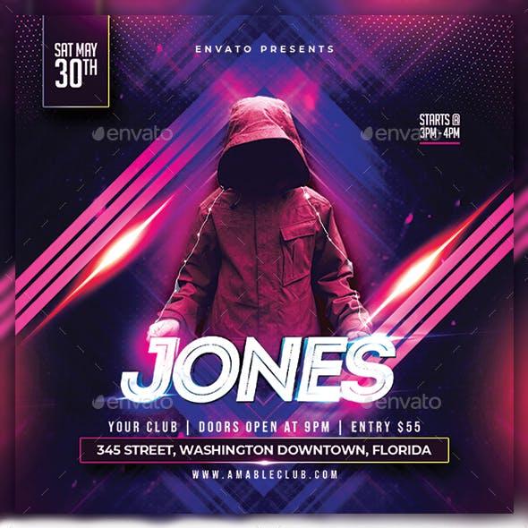 Guest DJ Flyer/Poster
