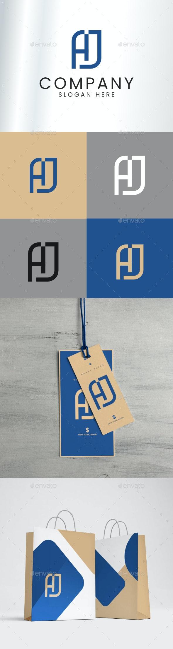 AJ logo - Logo Templates
