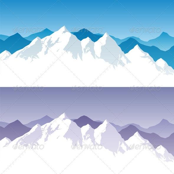 Mountain Range - Landscapes Nature