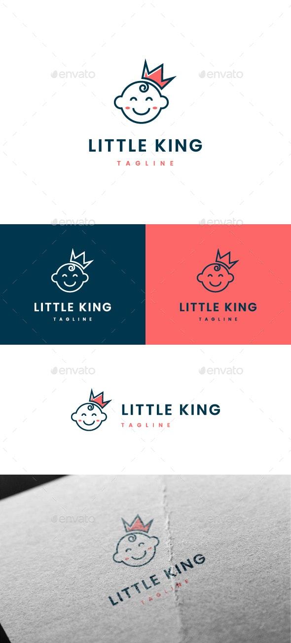 Little King Logo - Humans Logo Templates