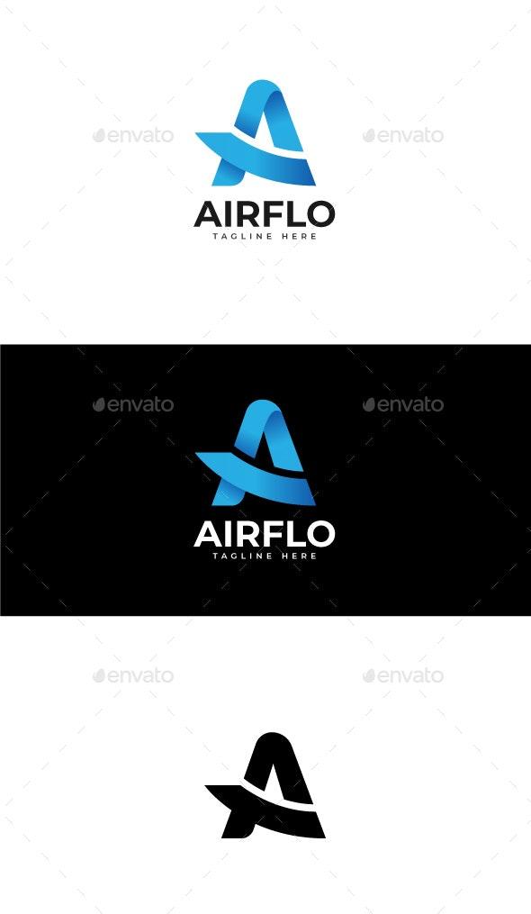 Letter A Logo Template - Symbols Logo Templates
