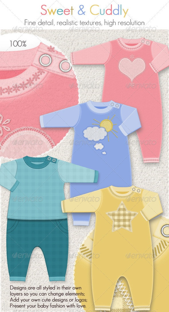 Baby Clothing for Winter; 4 Fleece Suits - Miscellaneous Apparel