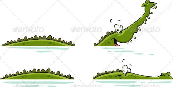 Crocodile - Animals Characters