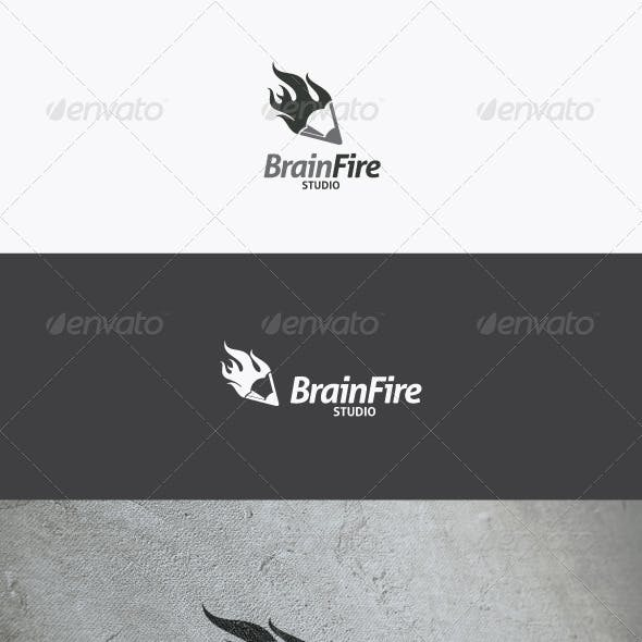 Brain Fire Logo
