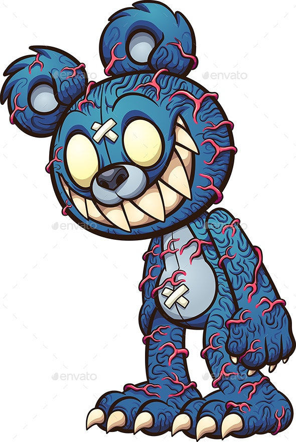 Scary Teddy - Monsters Characters