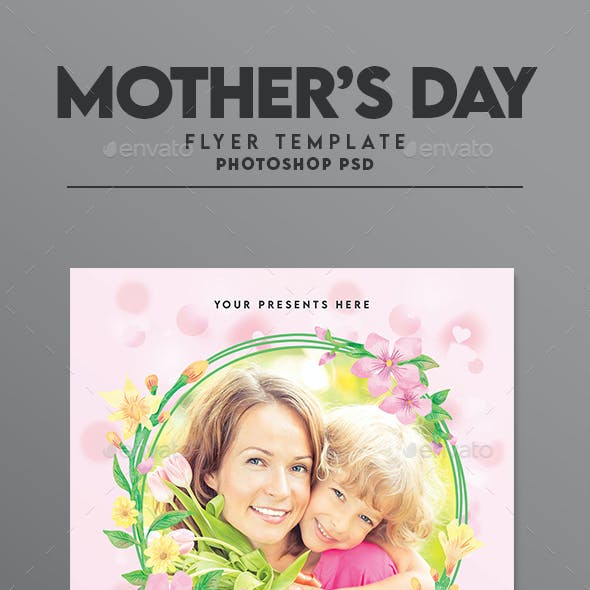 Happy Mother's Day Flyer