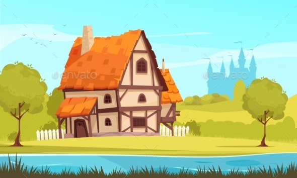 Architectural Housing Evolution Medieval Image - Buildings Objects