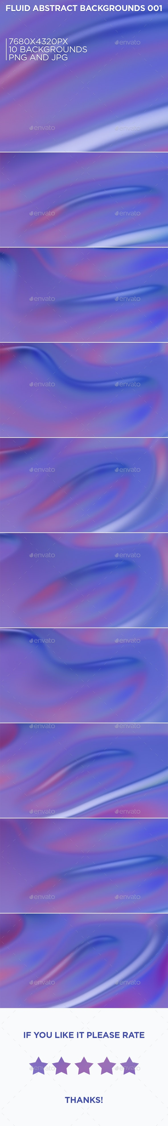 Fluid Abstract Backgrounds 001 - Abstract Backgrounds