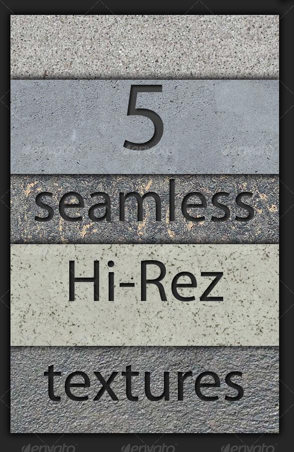 5 Hi-Rez Seamless Concrete Textures - Concrete Textures