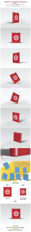 BOOK COVER MOCKUP [VOL1] - Books Print