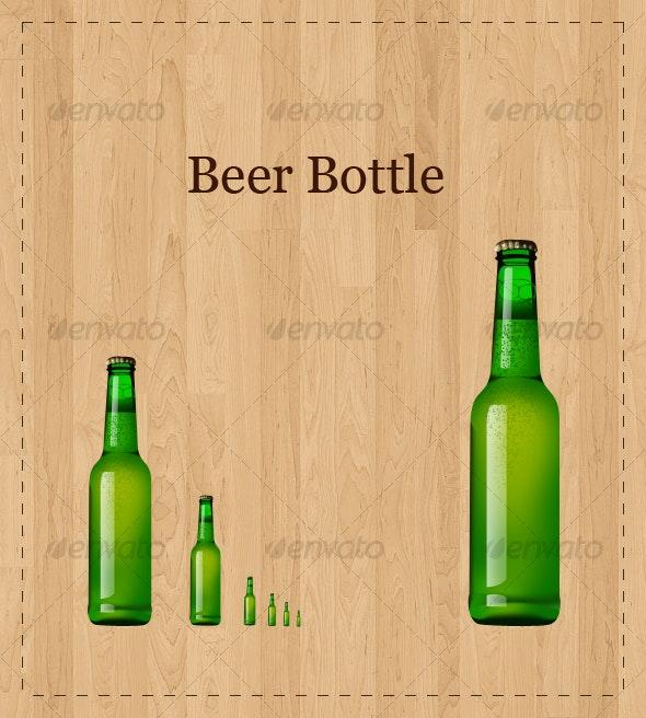 Beer Bottle - Objects Illustrations
