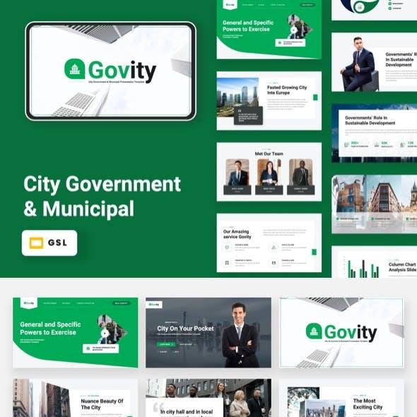 Govity - City Government & Municipal Google Slides Template
