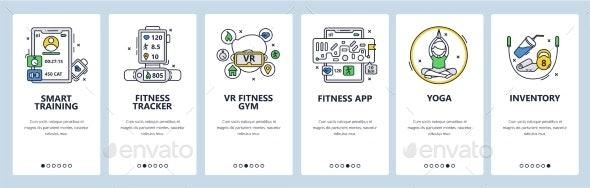 Smart Training - Sports/Activity Conceptual