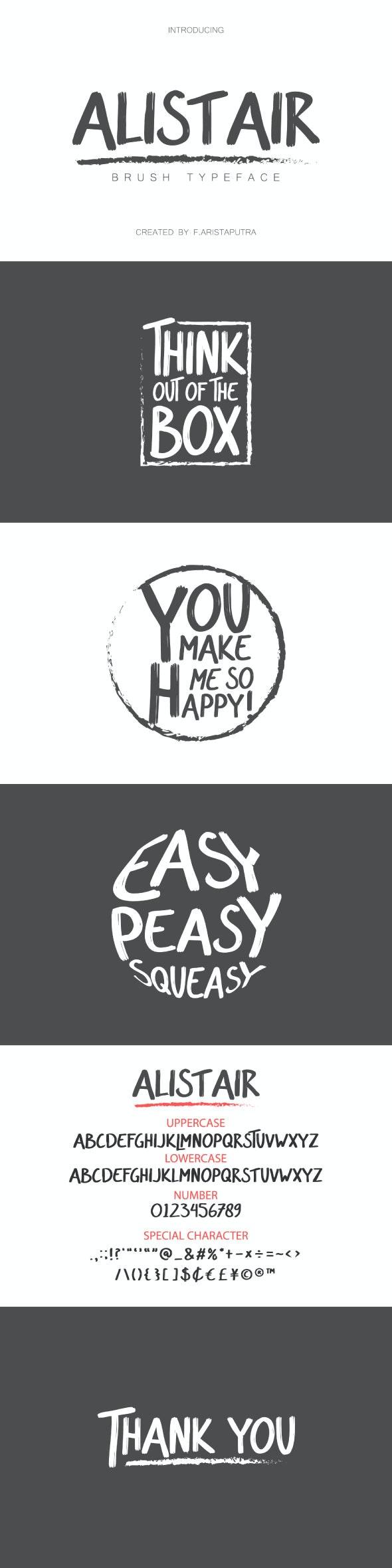 Alistair - Sans-Serif Fonts