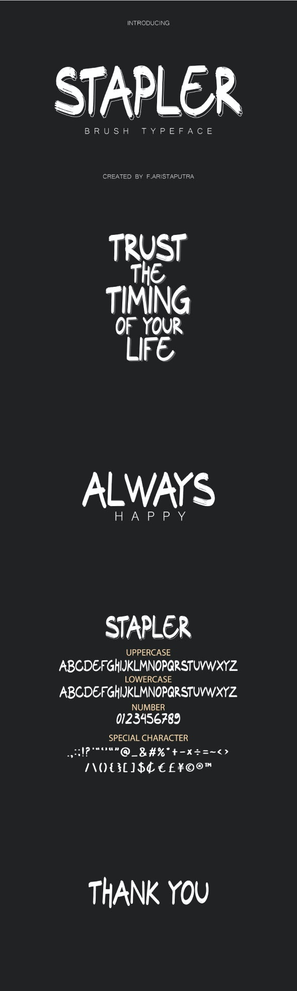 Stapler - Sans-Serif Fonts