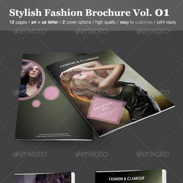 Stylish Fashion Brochure Vol. 01