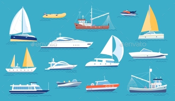 Yachts and Sailboats - Man-made Objects Objects