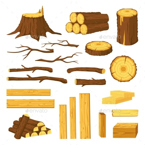 Wood Trunks and Planks - Industries Business