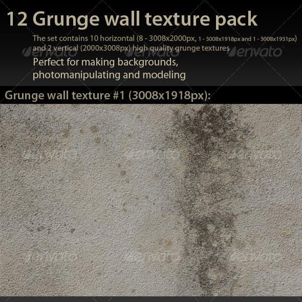 Grunge Wall Texture Pack