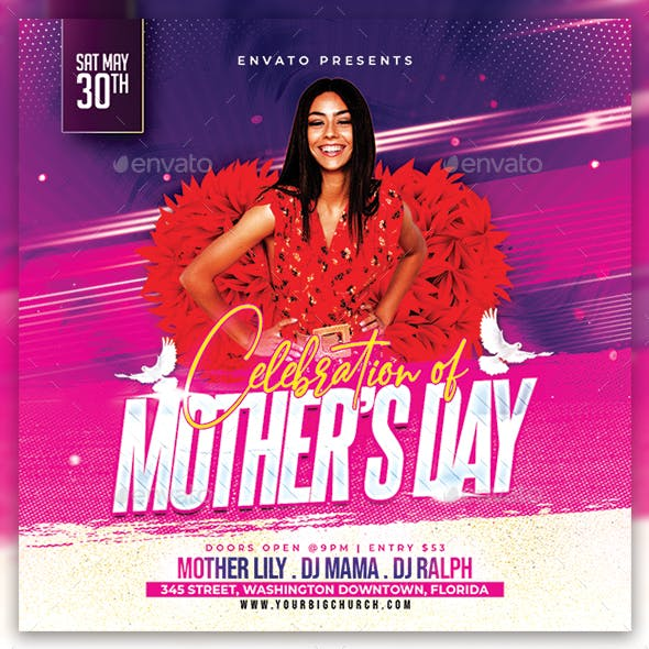 Mother's Day Flyer/Poster