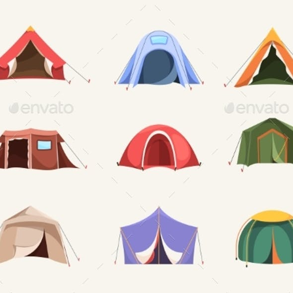 Tent Colored