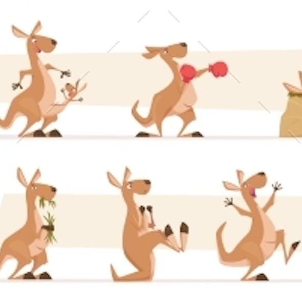 Kangaroo Characters