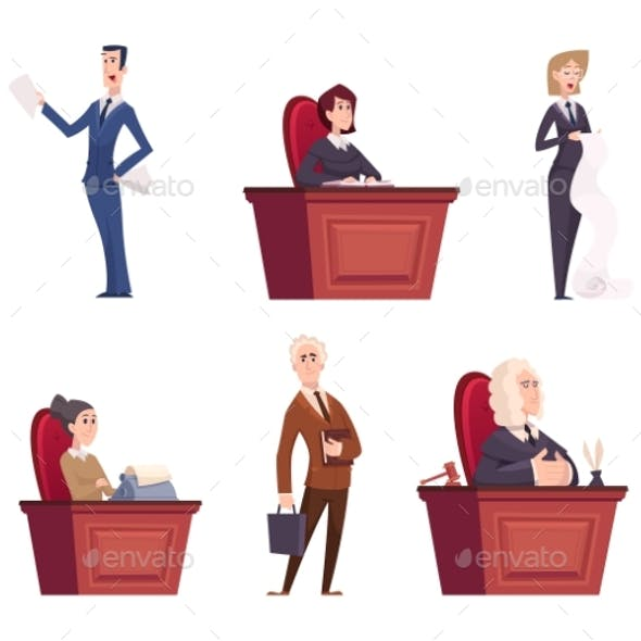 Judges Characters