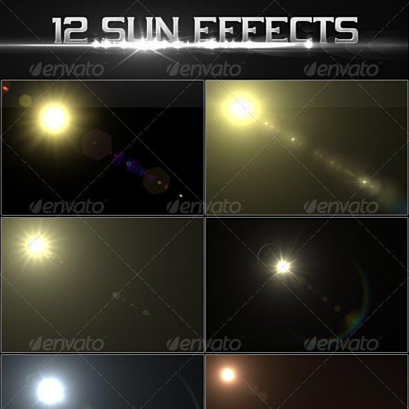 12 Sun Effects