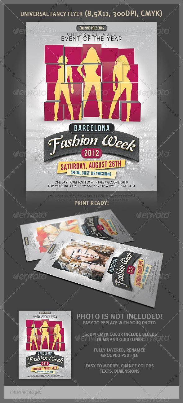 Universal Fancy Flyer - Events Flyers