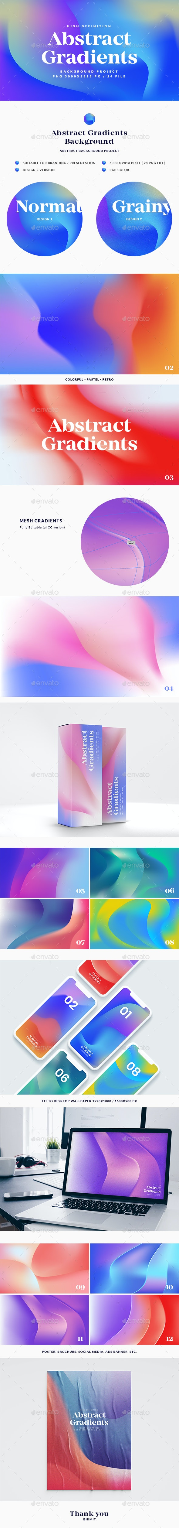 Abstract Gradients Background - Abstract Backgrounds