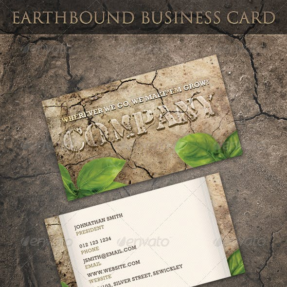 Earthbound Business Card