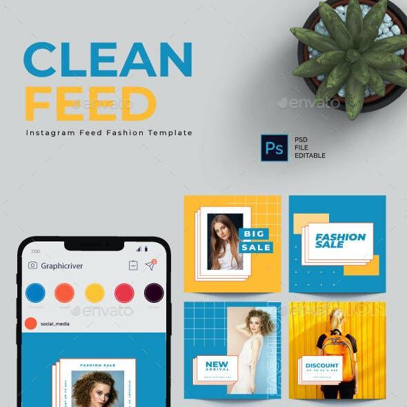 """Clean Feed"" Instagram Template"