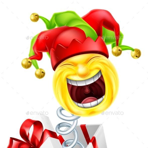 Jack in The Box Jester Fool Cartoon Emoticon Icon
