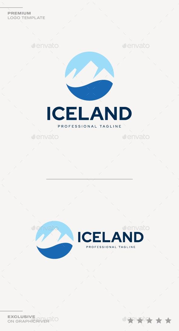 Iceland Logo - Nature Logo Templates