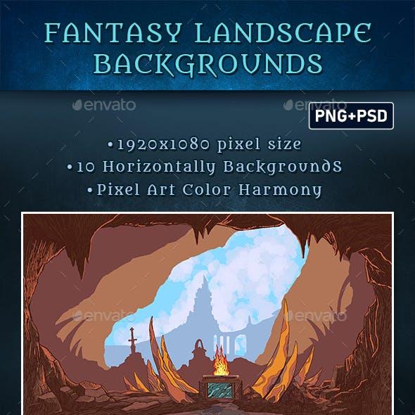 Fantasy Landscape Backgrounds