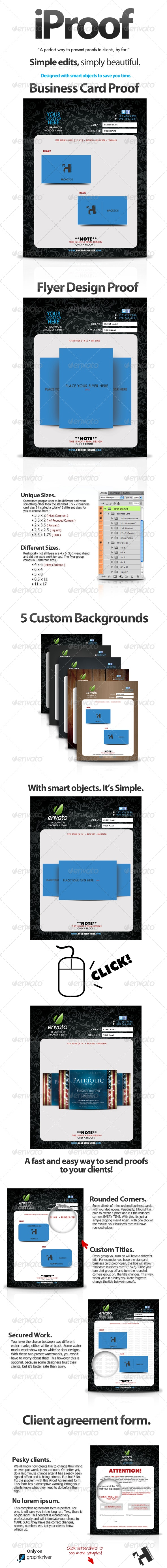 iProof - Client Proof Kit, Great for Freelance! - Miscellaneous Print Templates
