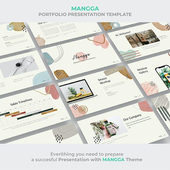 Multipurpose Startup Presentation Mangga