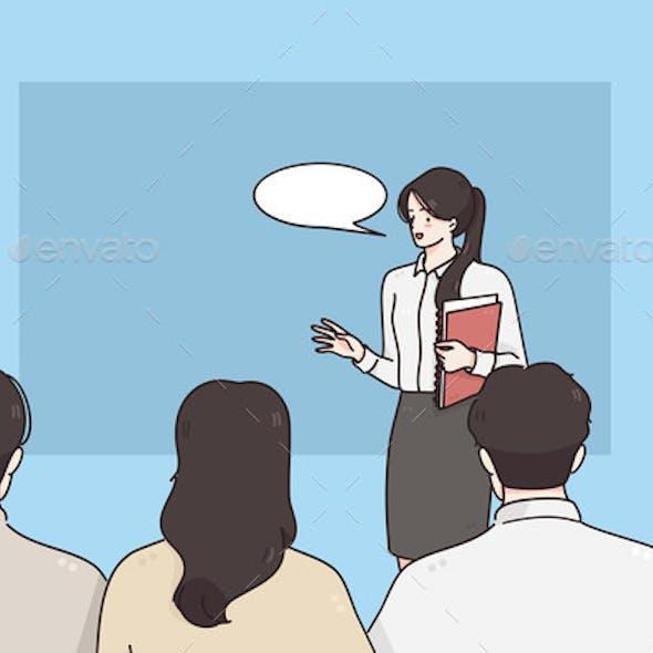 Coach Presentation and Business Presentation