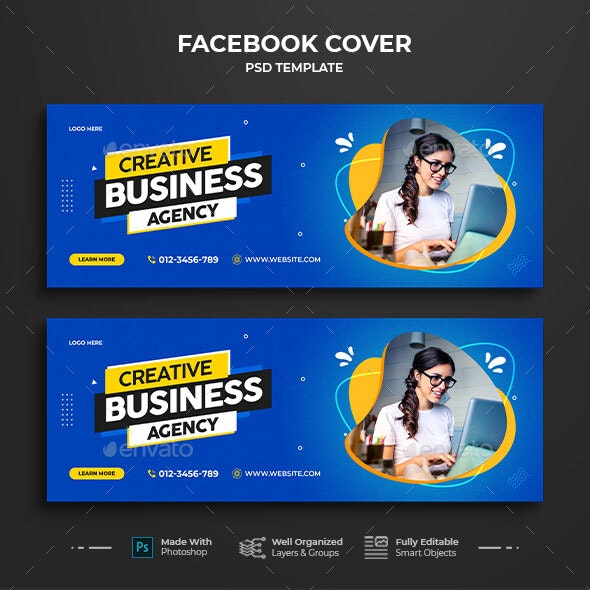 Business Facebook Cover Template - Facebook Timeline Covers Social Media