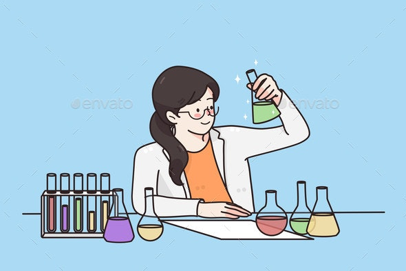 Working in Laboratory Scientific Experience - Technology Conceptual