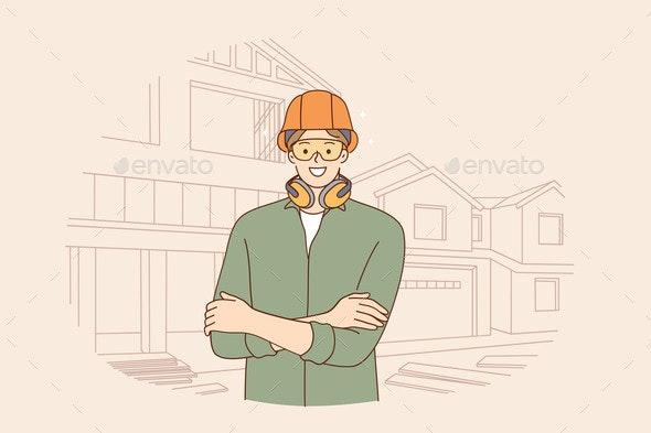 Male Engineers During Work Concept - Industries Business