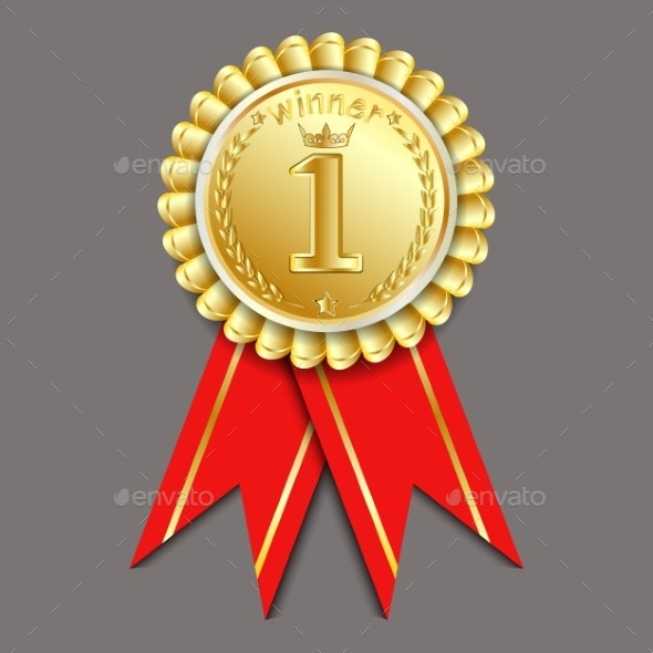 Gold Medal Vector - Miscellaneous Vectors