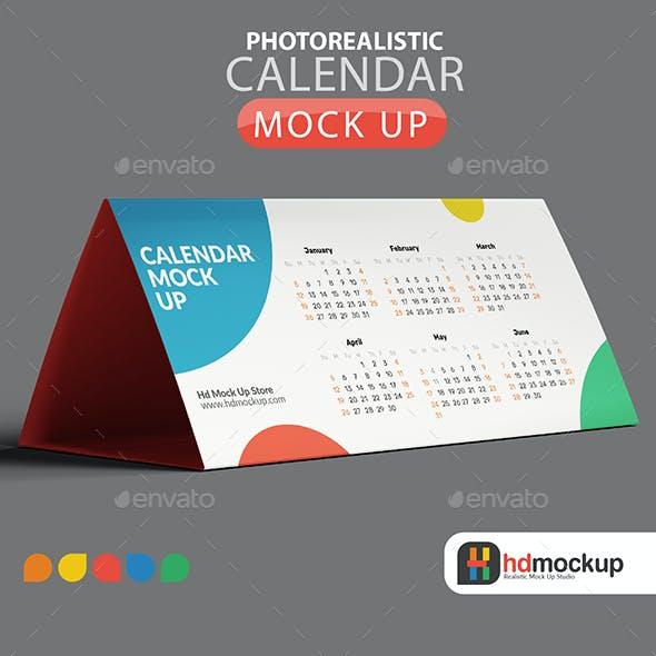 Calendar Mock Up - 002