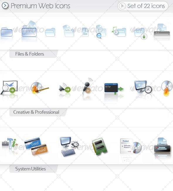Premium Web Icons - Web Icons