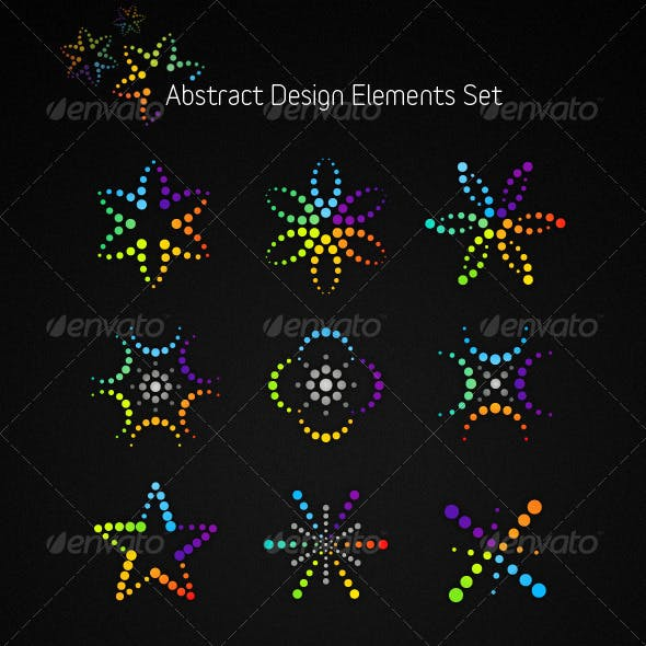 Abstract Vector Design Elements Set