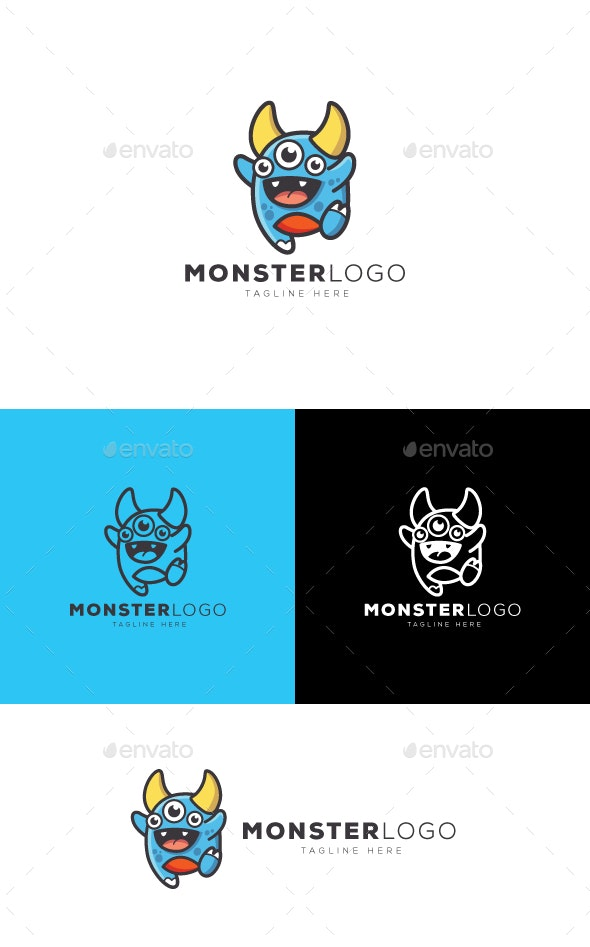 Monster Logo - Objects Logo Templates