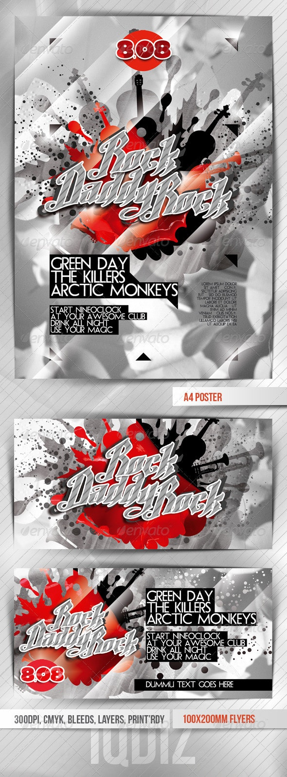 Rocky Flyers Template VER.2 - Clubs & Parties Events