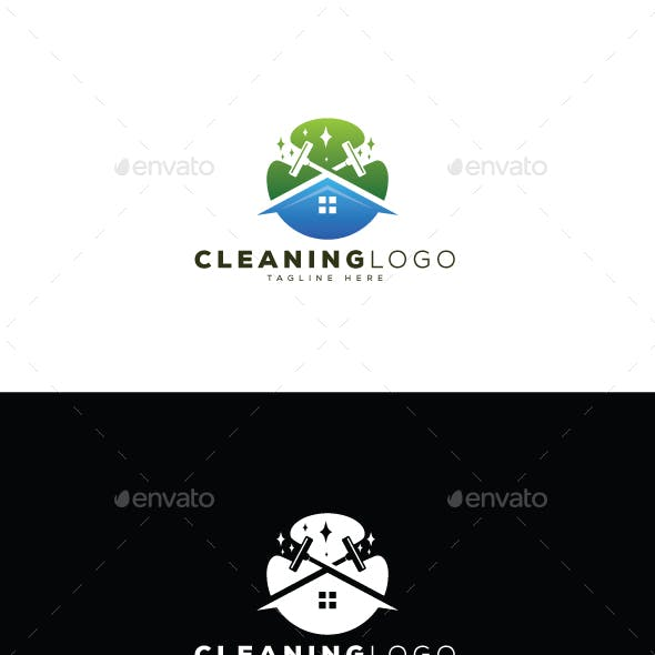 Home Cleaning Logo