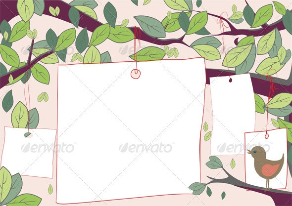Sale Tags In Trees - Commercial / Shopping Conceptual